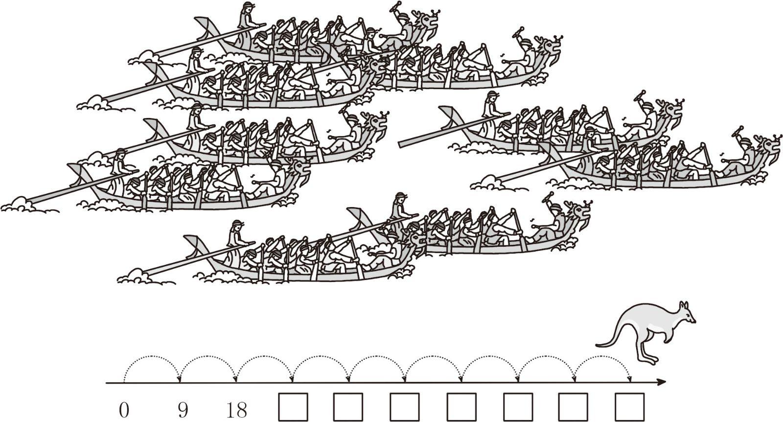 龙舟简笔画步骤图解龙头