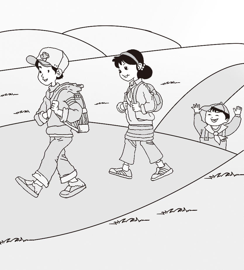 春游 课文内容图片 淘知学堂图片
