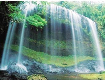 最有名的就是唐代诗人李白的《望庐山瀑布》,已成千古绝唱.